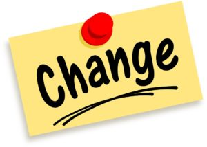Cleaning Lessons - adjusting to change