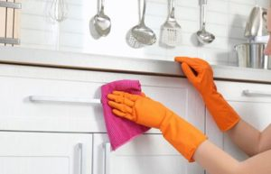 Disinfect your home and touch points throughout